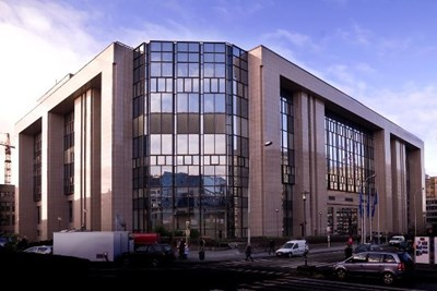 European Council meetings take place in the Justus Lipsius building in Brussels