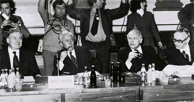 First meeting of the European Council in Dublin on 11 March 1975