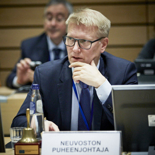 Kimmo Tiilikainen, State Secretary, Ministry of Finance of Finland, chief Council negotiator for the 2020 EU budget