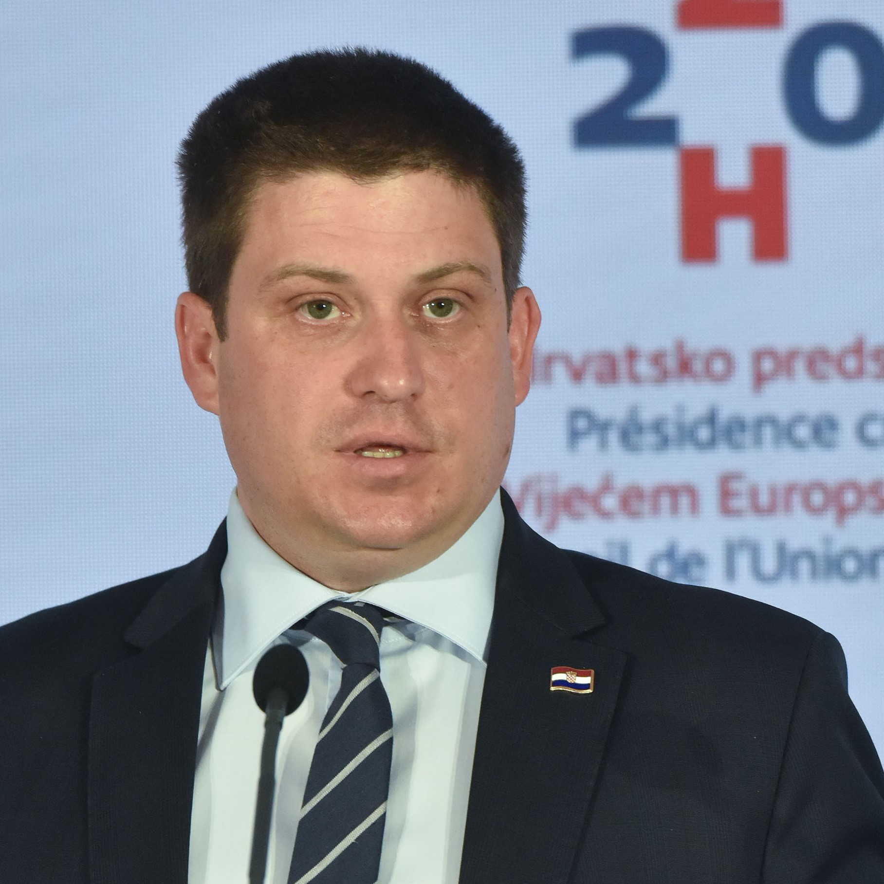 Oleg Butković, Croatian Minister for the Sea, Transport and Infrastructure, President of the Council