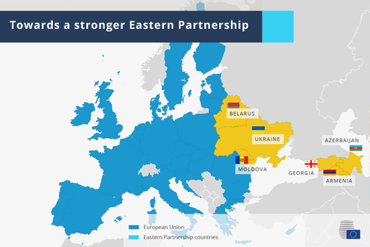 Infographic - Towards a stronger Eastern Partnership